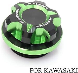 T-Axis Green CNC Oil Filler Cap For Kawasaki Ninja 250R 300R ZX-10R Ninja ZX-6R 636 Ninja ZRX1200 2017 2018 2019