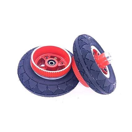 Neumático de scooter eléctrico, rueda completa inflable de 8 ...