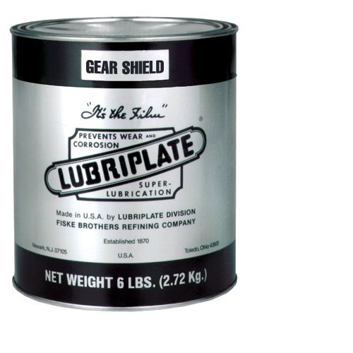 Lubriplate Gear Shields, L0150-006, Lithium-Based,Gear Grease, Ctn 6/6 Lb Cans by Lubriplate