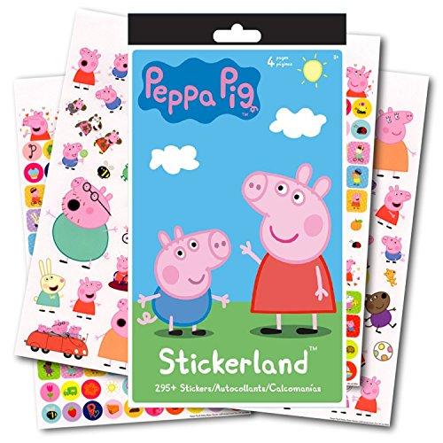 Stickerland Peppa Pig Stickers - 295 Stickers