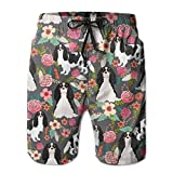 confirm vt Charles Spaniel Dog Lined Mens Boardshorts Swim Trunks Men Tropical Gym Soccer Board Shorts Surf Trunks