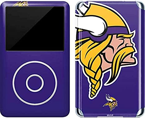 - Officially Licensed NFL Minnesota Vikings Blast Design 4th Gen Skinit Decal Skin for iPod Touch