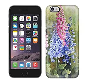 Premium Watercolour Florals Yvonne Harry Back Cover Snap On Case For Iphone 6 Plus by ruishername