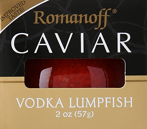 (Romanoff Caviar Lumpfish Red Vodka, 2 oz)