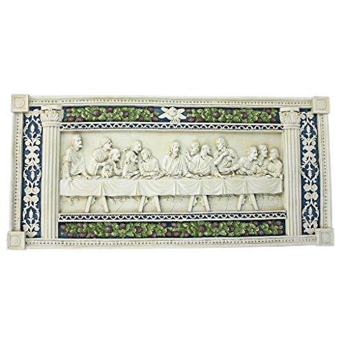 Design Toscano The Last Supper by Della Robbia Wall Sculp...