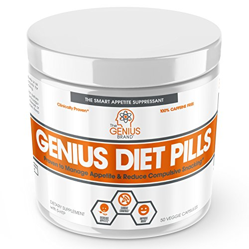 GENIUS DIET PILLS Suppressant Supplement