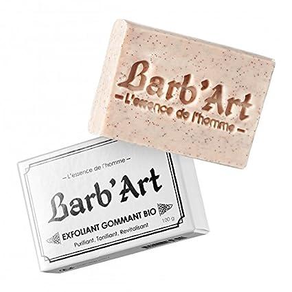 Jabón exfoliante facial y la barba Bio ○ almendra dulce bio ○ barb Art®