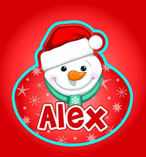 John Hinde Alex My Name Flashing Badge