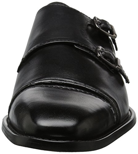 Stacy Adams Men's Rycroft Cap Toe Double Monk Strap Oxford, Black, 9 M US by Stacy Adams (Image #4)