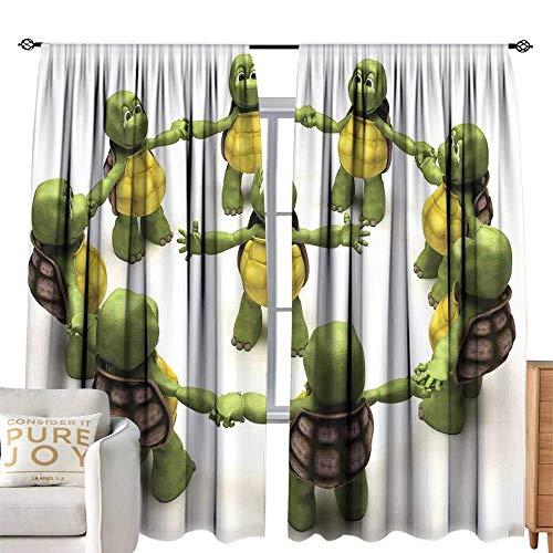 ninja turtle curtains girl - 7