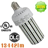 100W LED Retrofit Lamp 6000K Daylight E39 Mogul Base Warehouse Barn Light 120 volt 240volt 277v Corn Cob Replace 400 Watt Metal Halide High Bay