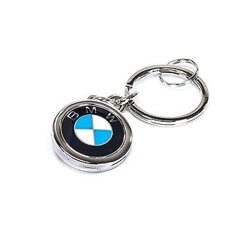 Amazon.com: BMW auténtica medallón clave cadena anillo 1, 3 ...