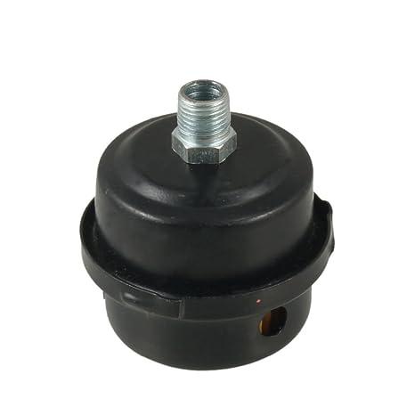 "PT 3/8 ""rosca macho Metal Shell Compresor de aire Silenciador Filtro"