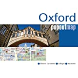 Oxford PopOut Map - pop-up city street map of Oxford city centre - folded pocket size tourist map (PopOut Maps)
