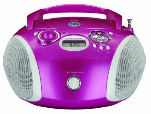 Schön Grundig RCD 1440 Tragbarer Radiorekorder (MP3, USB, CD R/RW) Rosa:  Amazon.de: Audio U0026 HiFi