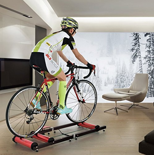 Premium Indoor Bicycle Bike Roller Rollers Trainer by CyclingDeal (Image #3)