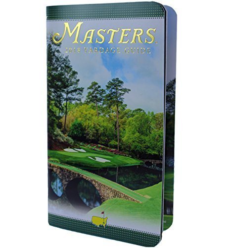 Masters 2018 Yardage Book from Augusta National Golf Club (Augusta National Golf Holes)