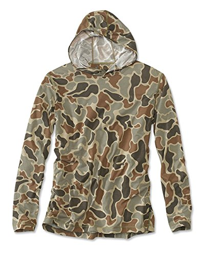 Orvis Men's Hunting Drirelease Camo Hoodie, Large
