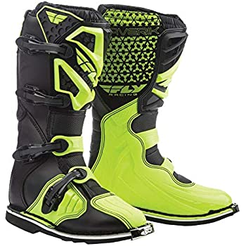 Fly Racing Unisex-Adult Maverick Mix Boots (Hi-Vis, Size 11)