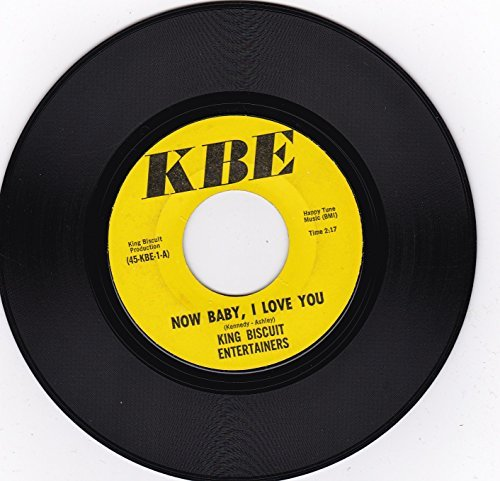 Biscuit Entertainer - Now Baby, I Love You / The Courtship of Priscilla Brown
