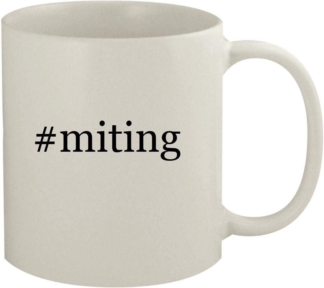 #miting - 11oz Hashtag White Coffee Mug