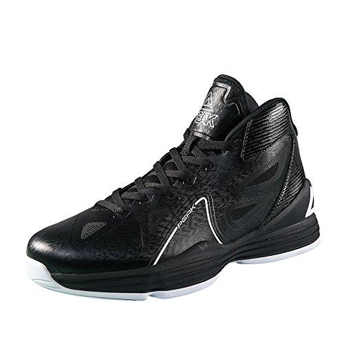 Peak Männer Galaxy Basketball Schuhe Schwarz-Weiss