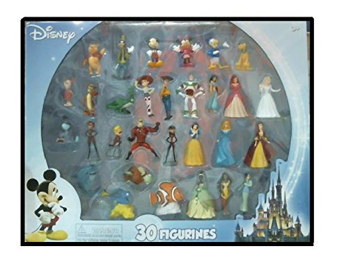 Beverly Hills Teddy Bear Company Disney Super Assortment Toy Figure Playset, 30-Piece from Beverly Hills Teddy Bear