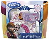 Disney Frozen Love Blooms Twin Sheet Set