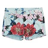 Levi's Big Girls' Soft Brushed Shorty Shorts, Iced Aqua, 12