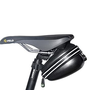 UGUAX Bolsa para Sillín de Bicicleta, Impermeable, con Correa para la Cápsulas espaciales,