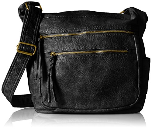 bueno-of-california-antique-pebble-soft-faux-leather-shoulder-black