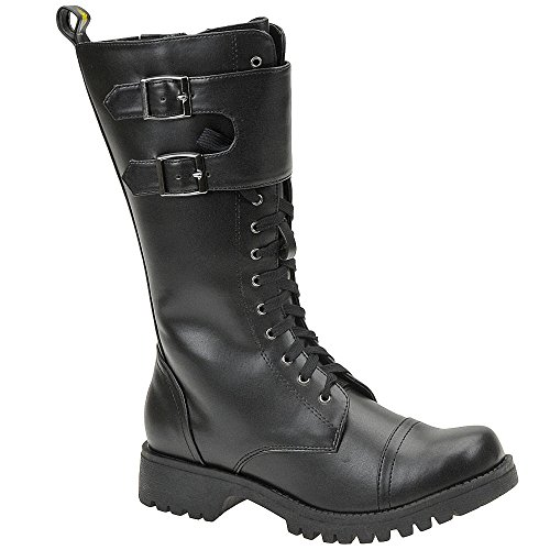 Volatile Women's Tank Boot,Black,6 B US]()