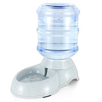 Mascotas dispensador de agua automática mascotas Bandeja trinkender Brunnen para perro y gato 3.5L/11L: Amazon.es: Productos para mascotas