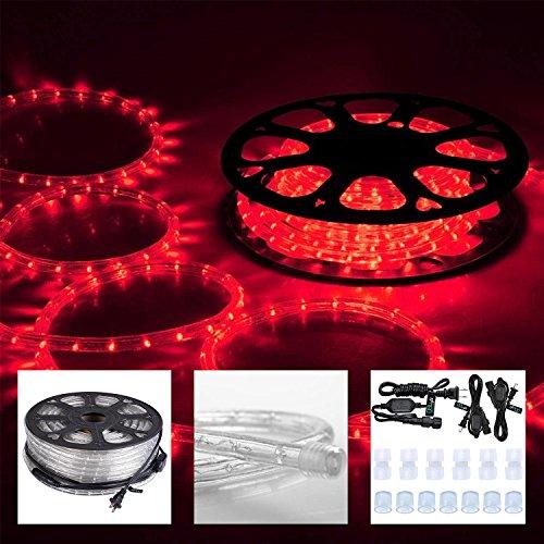 Koval Inc. 150 FT. Outdoor Light LED Rope String Lights 1...