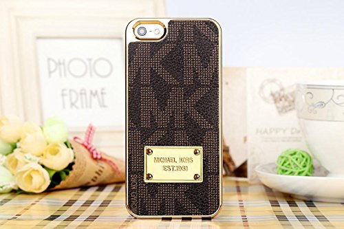 """Slowfishp® MK Luxury Style Case Cover For Apple iPhone 6 Plus (5.5"""") Retail Packaging (LC-24)"""