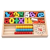 Meolin Math Toys Digital Stick Learning Box Figures Education Learning Educational Toys