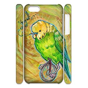 YNACASE(TM) Unicycle Customized 3D Cell Phone Case for iPhone 5C,Customized 3D Cover Case with Unicycle