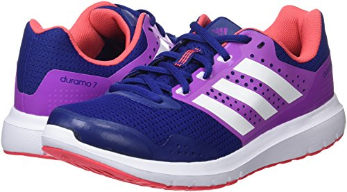 Femme Purple shock Chaussures Ink Running white Adidas 7 Bleu De Duramo unity TwXqfP