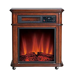 "Comfort Glow ""The Devonshire"" Electric Infrared Quartz Fireplace"