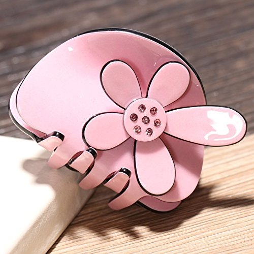 usongs URANUS cute flower hair grip characteristics acrylic trumpet gripper fashion hair accessories headdress Hair Accessories