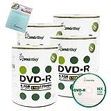 Smartbuy 400-disc 4.7GB/120min 16x DVD-R Logo Top Blank Media Record Disc + Free Micro Fiber Cloth