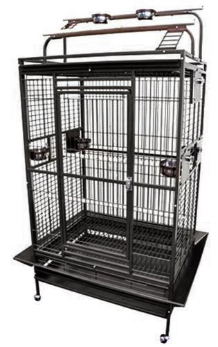 Hq Parrot Cages (KING'S CAGES 8003628 Play Pen Bird Cage - 36