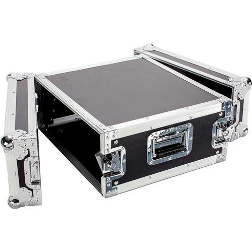 Deejay LED Fly Drive 4U Space Professional DJ Amplifier Case - 18'' Body Depth by Deejay LED
