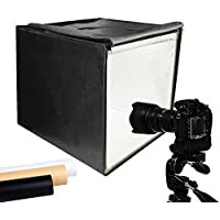 "Finnhomy Professional Portable Photo Studio, Photo Light Studio, Photo Tent, Table Top Photography Shooting Tent Box Lighting Kit, 16"" x 16"" Cube"