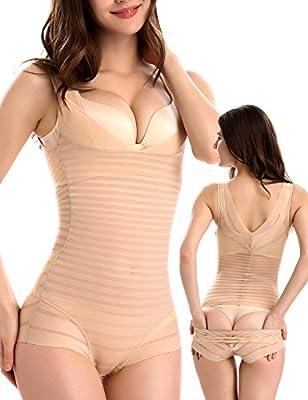 Women's Shapewear,High Waist Panties Seamless Firm Control Bodysuit Waist Shaper for Women Shapewear By OLIKEME