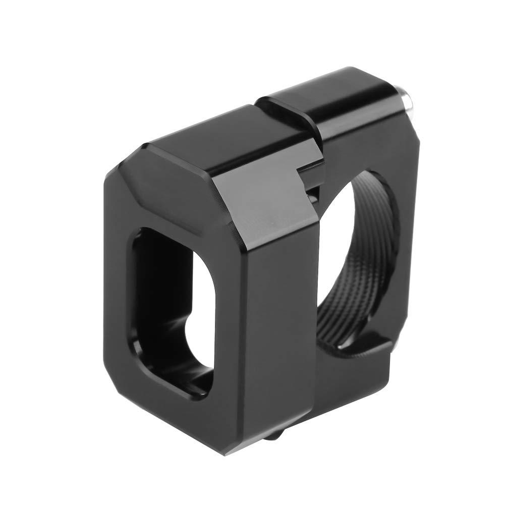 Universal 22mm-28.6mm Motorrad Aluminiumlegierung Speed Gear Display Anzeige Halter Halterung Schwarz Geschwindigkeit Ausr/üstung Anzeige Halter