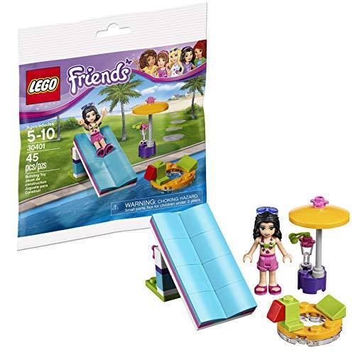 LEGO Friends Pool Foam Slide Mini Set #30401 [Bagged]