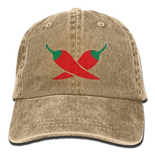 (Pepper Cross Denim Hat Adjustable Men's Great Baseball Hats)