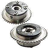 Pair Camshaft adjuster Gears For Mercedes C250 E250 SLK250 M271,## 2710500947, 2710501447, 2710500647
