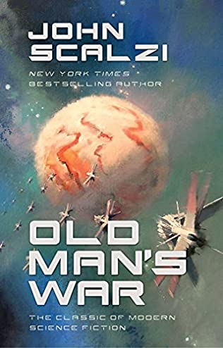 book cover of Old Man\'s War